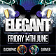 Elegant Nightclub Flyer - GraphicRiver Item for Sale