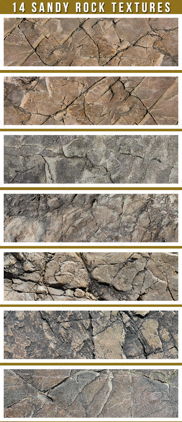 GraphicRiver 14 Sand Stone Textures 4976473