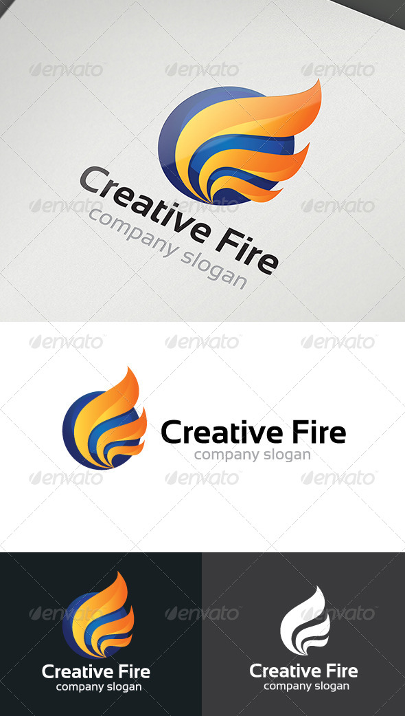 GraphicRiver Creative Fire Logo 4977714