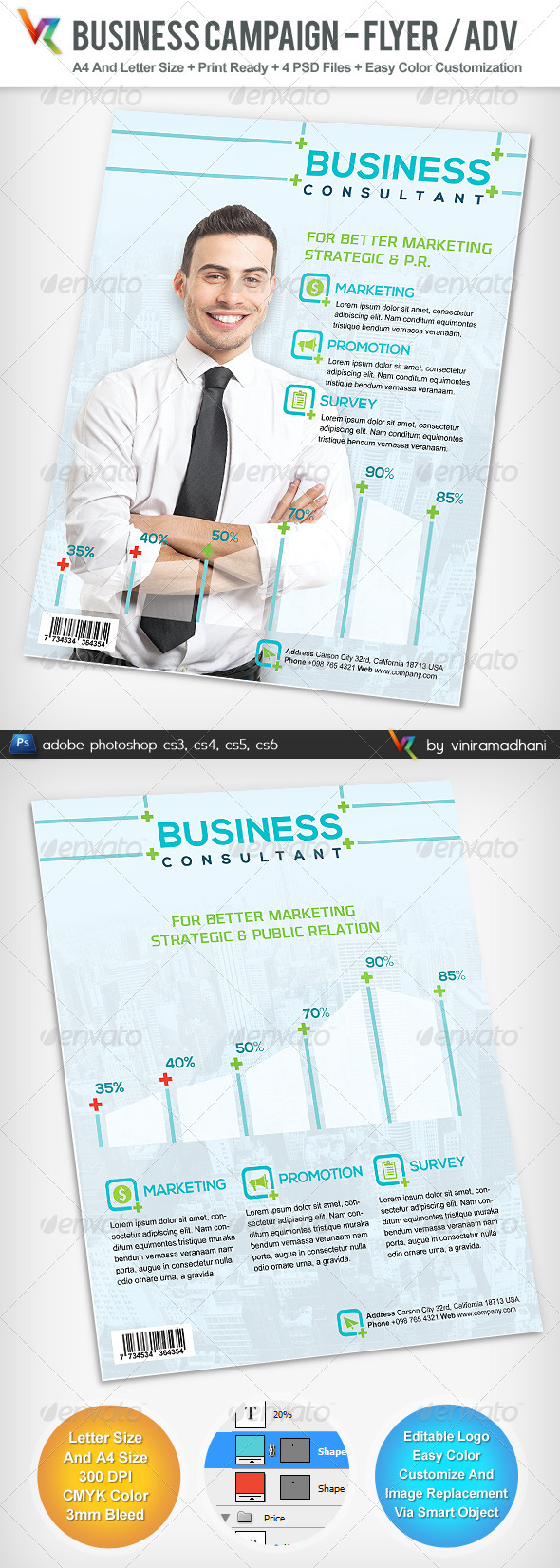 GraphicRiver Business Campaign Advertising Flyer 4977771