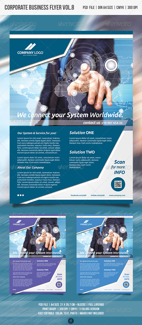 GraphicRiver Corporate Business Flyer Vol.8 4978114
