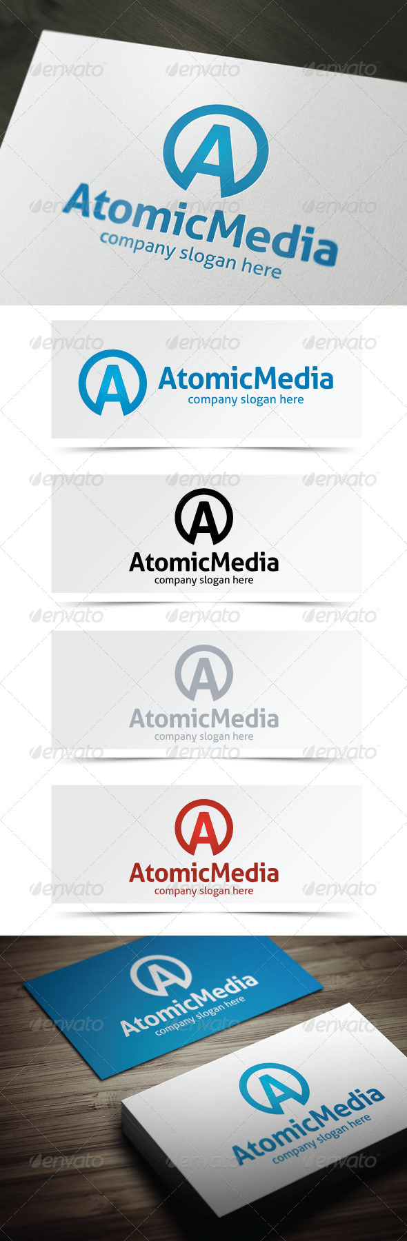 GraphicRiver Atomic Media 4978117