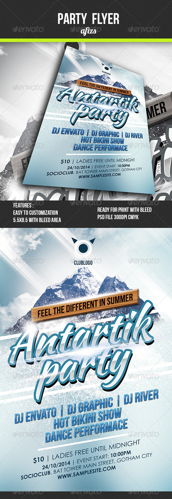 GraphicRiver Party Flyer 4980358
