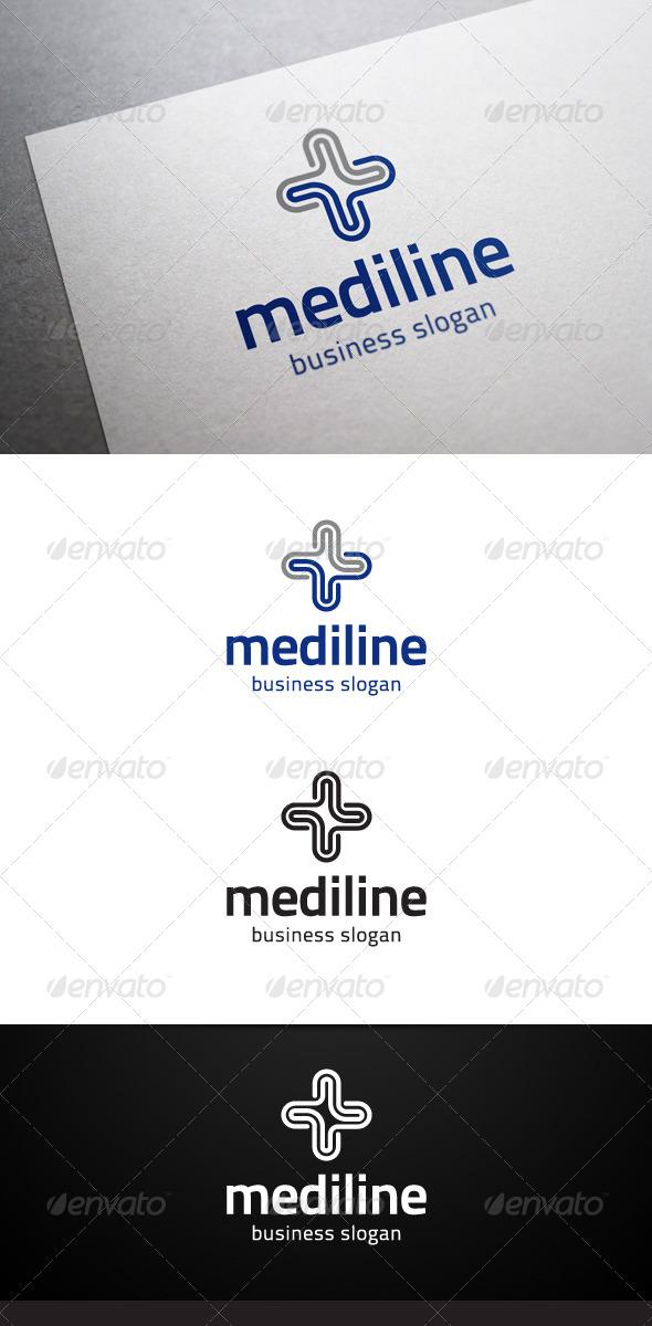 GraphicRiver Mediline Logo 4980751
