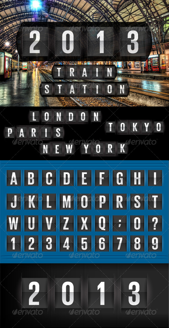GraphicRiver Countdown Text and Timer 4895097