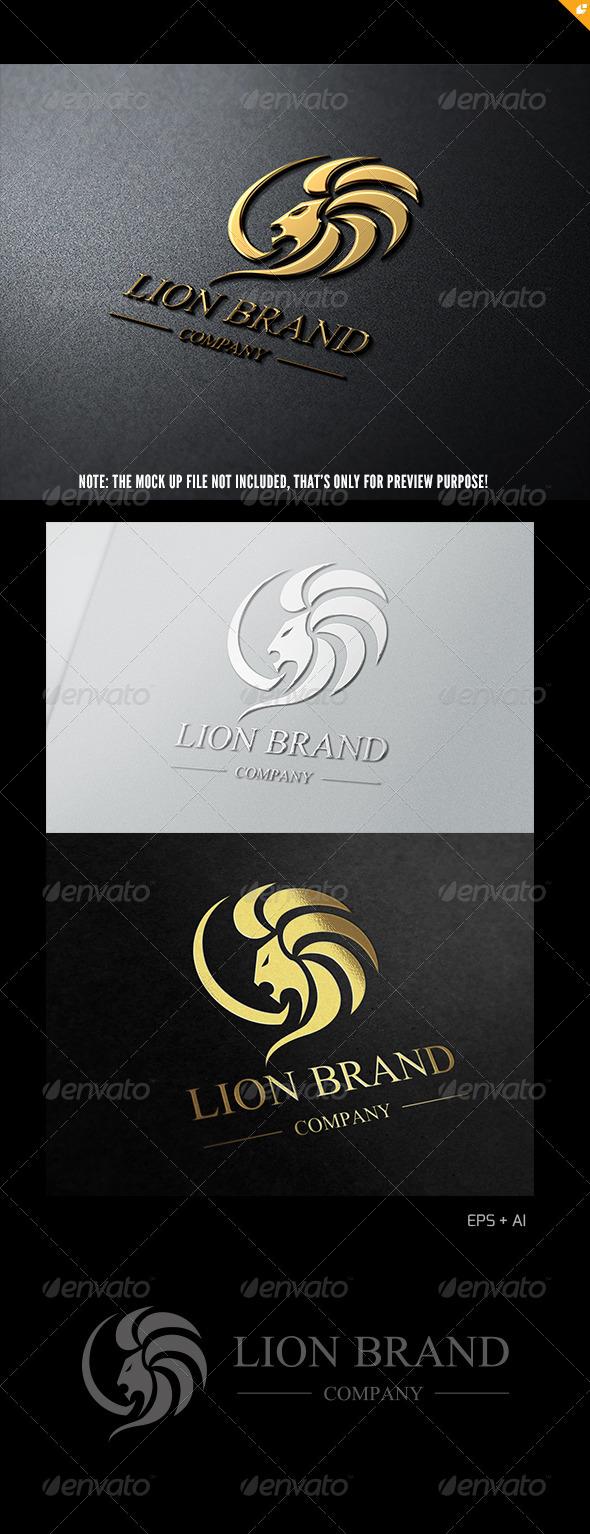 GraphicRiver Lion Brand Logo 1 4981078