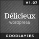 Delicieux - Restaurant Wordpress Theme - ThemeForest Item for Sale