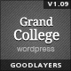 Grand College - Wordpress Theme For Education - ThemeForest Item for Sale