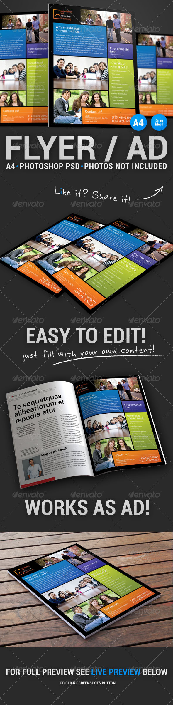 GraphicRiver Commerce Flyer 11 4981991
