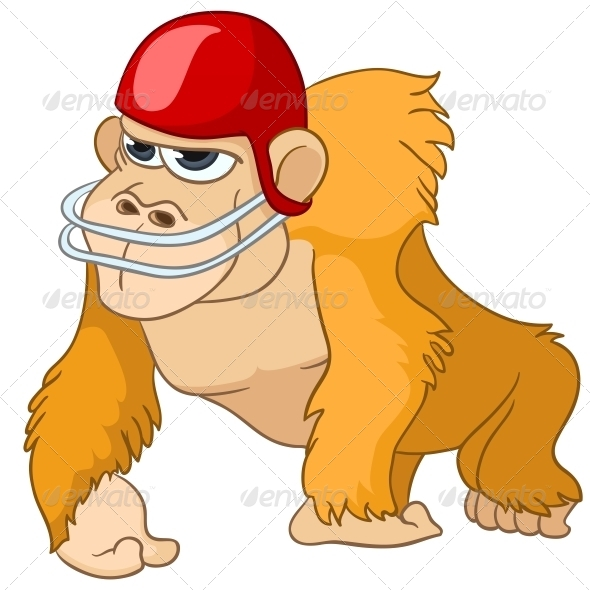 GraphicRiver Cartoon Character Monkey 4982871