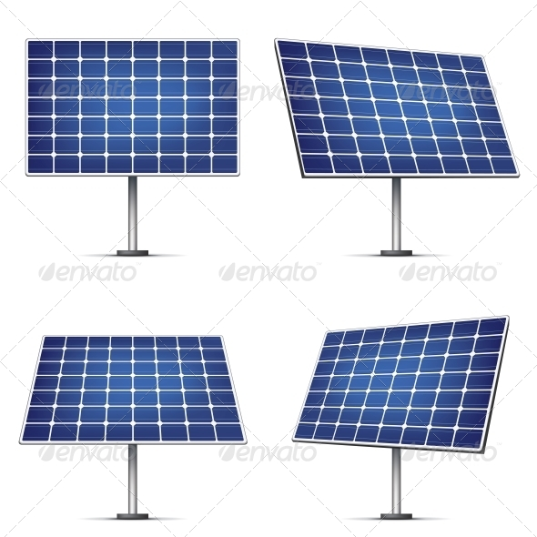 GraphicRiver Solar Panels 4983142