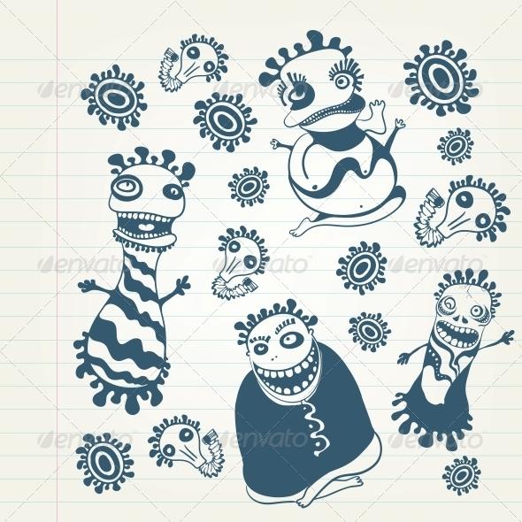 GraphicRiver Freak Set 4983230
