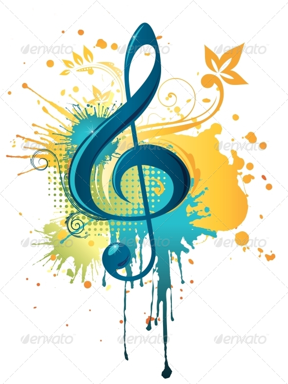 GraphicRiver Music Clef 4983430