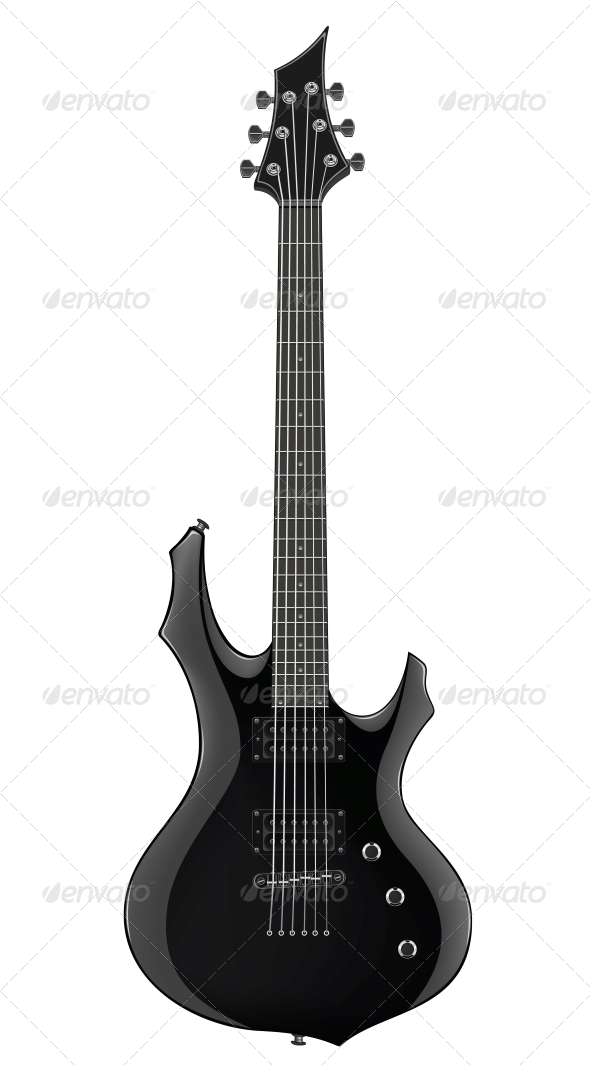 GraphicRiver Electric Guitar 4983432