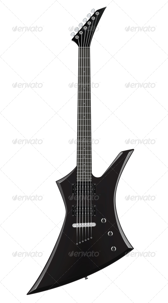 GraphicRiver Electric Guitar 4983433
