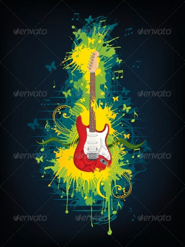 GraphicRiver Electric Guitar 4983492