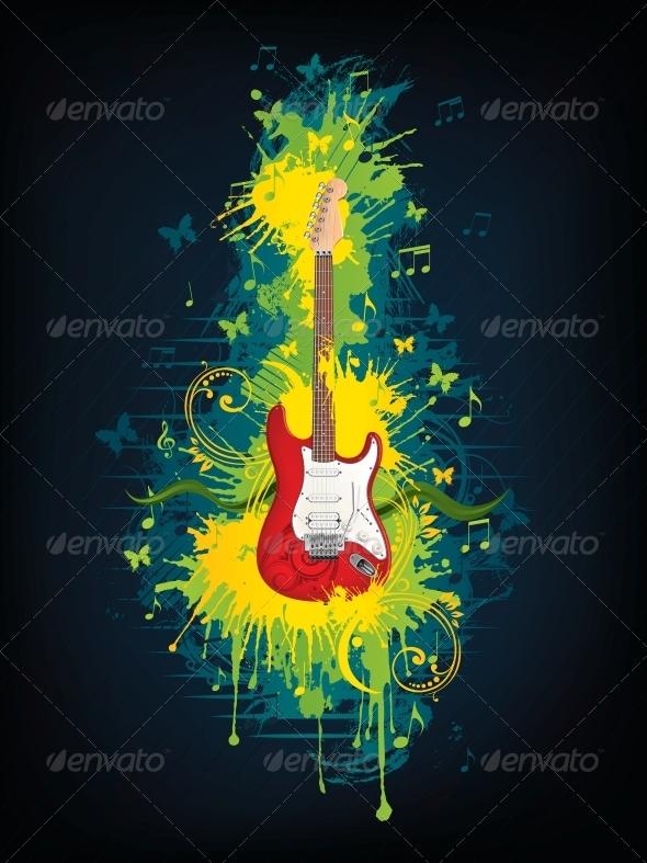 GraphicRiver Electric Guitar 4983492