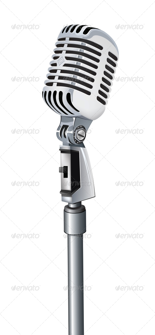 GraphicRiver Microphone 4983584