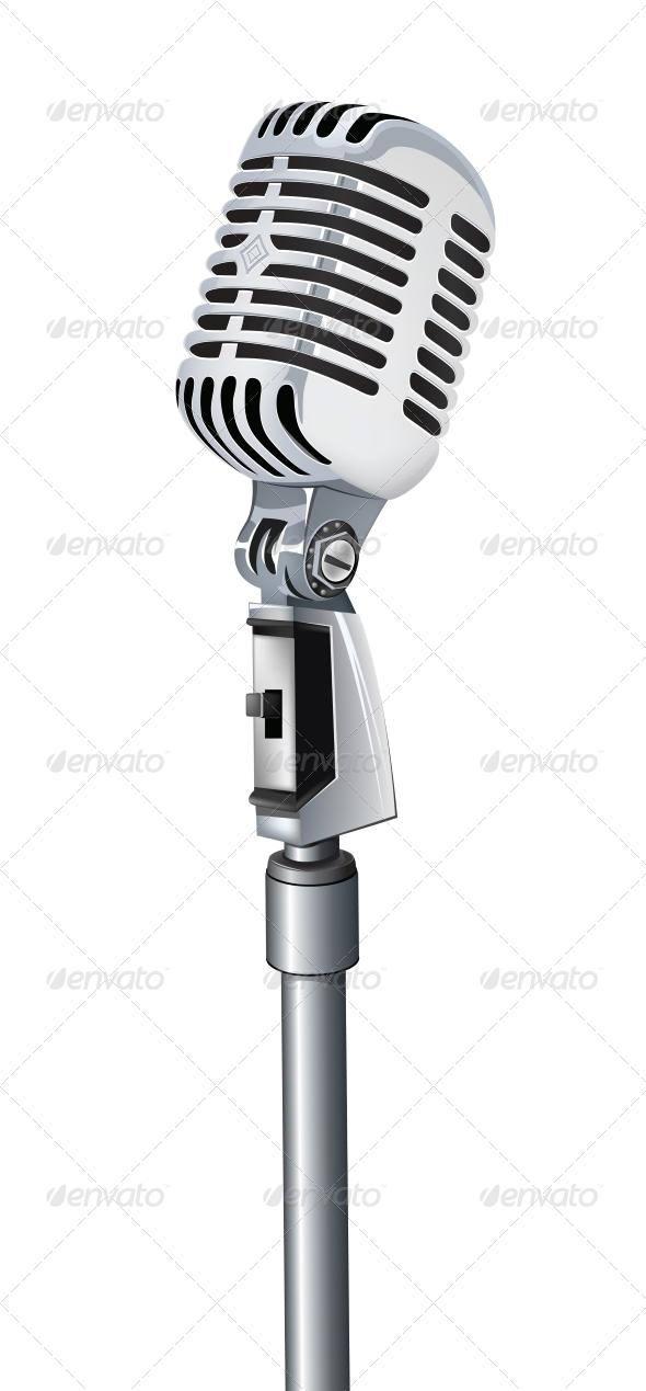 GraphicRiver Microphone 4983584