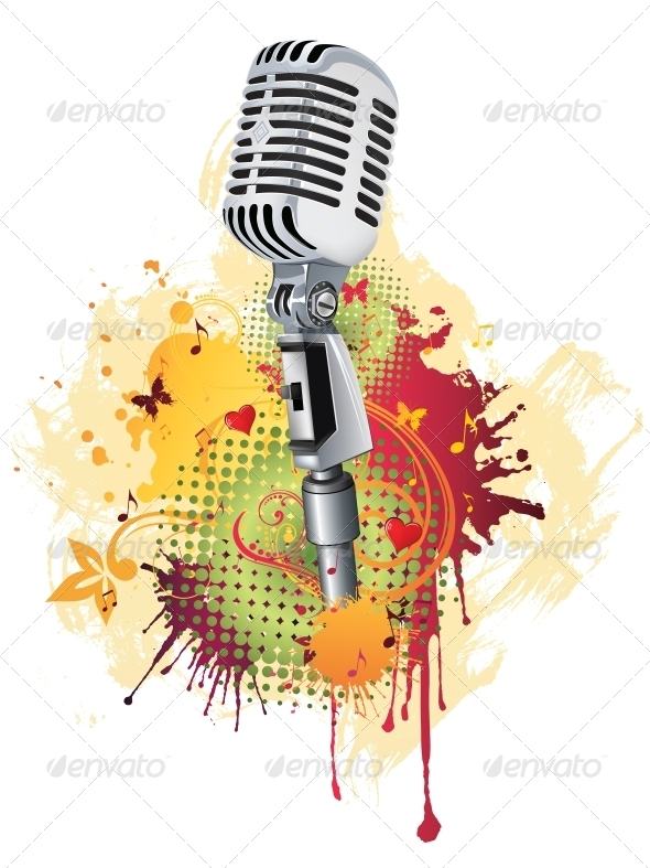 GraphicRiver Microphone 4983585