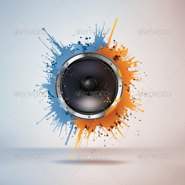 GraphicRiver Acoustic Loudspeaker 4983653