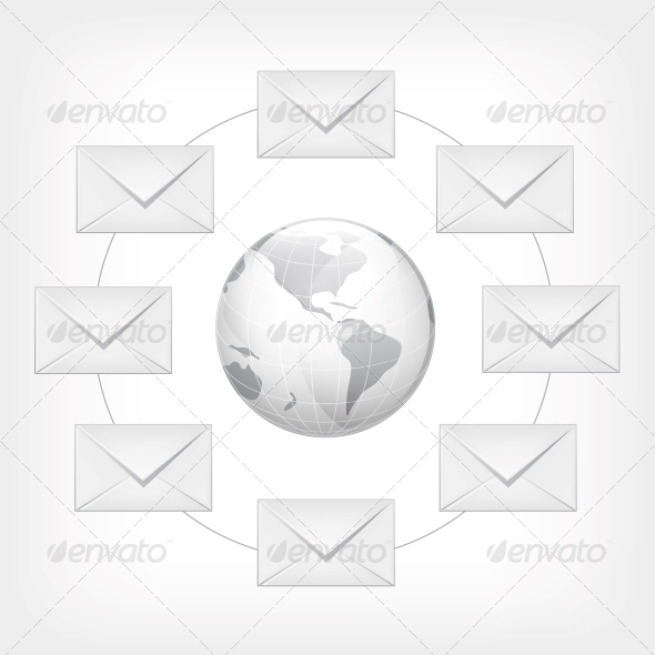 GraphicRiver Mail Concept 4983683