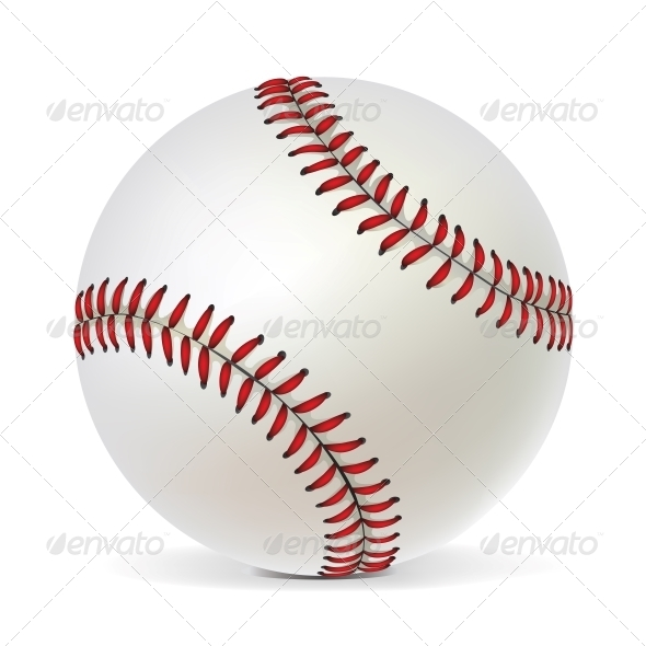 GraphicRiver Baseball Ball 4983726