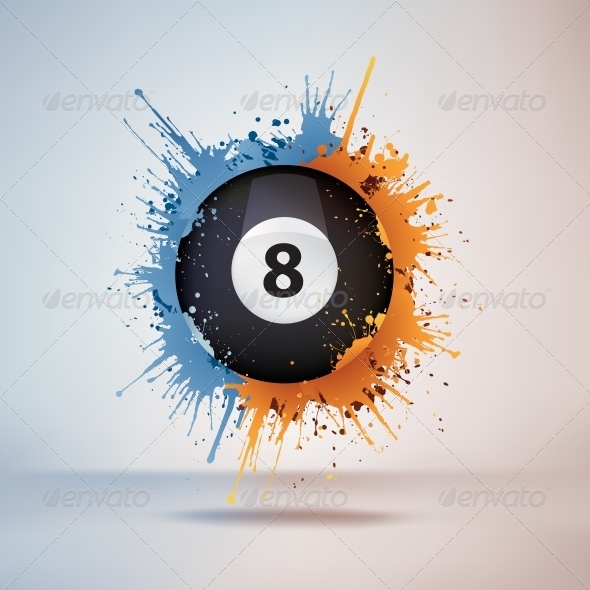 GraphicRiver Pool Billiards Ball 4983754