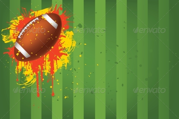 GraphicRiver Football Ball 4983791