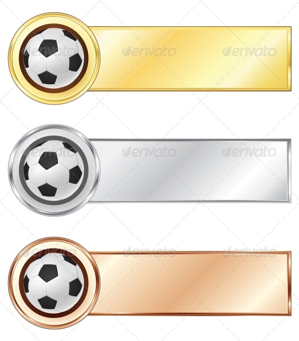 GraphicRiver Soccer Medals 4983879