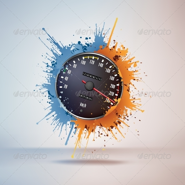 GraphicRiver Speedometer 4983883
