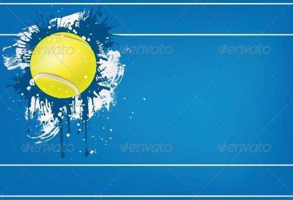 GraphicRiver Tennis Ball 4983888