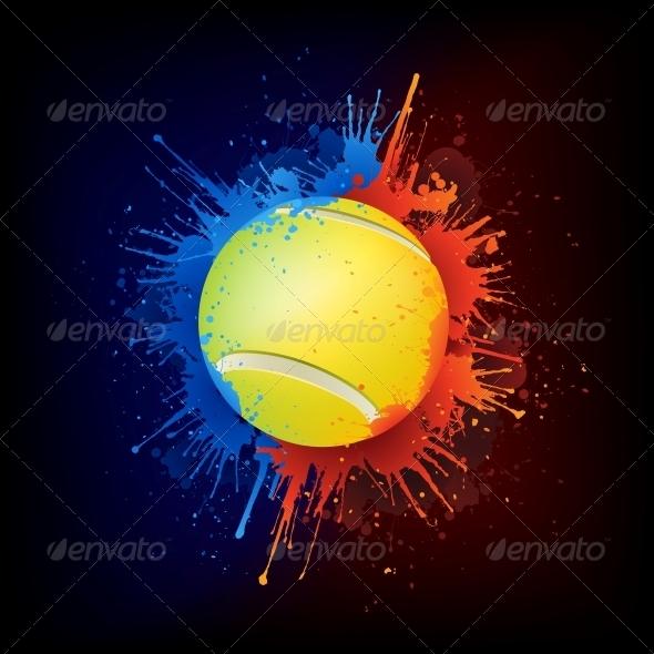 GraphicRiver Tennis Ball 4983891