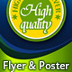 Poster, Flyer, Press Ad with Scene for Product - GraphicRiver Item for Sale