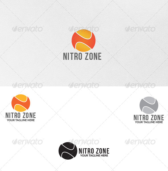 GraphicRiver Letter N Logo Template 4986968