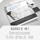 Brochure Tri-Fold Square Bundle #1 - GraphicRiver Item for Sale