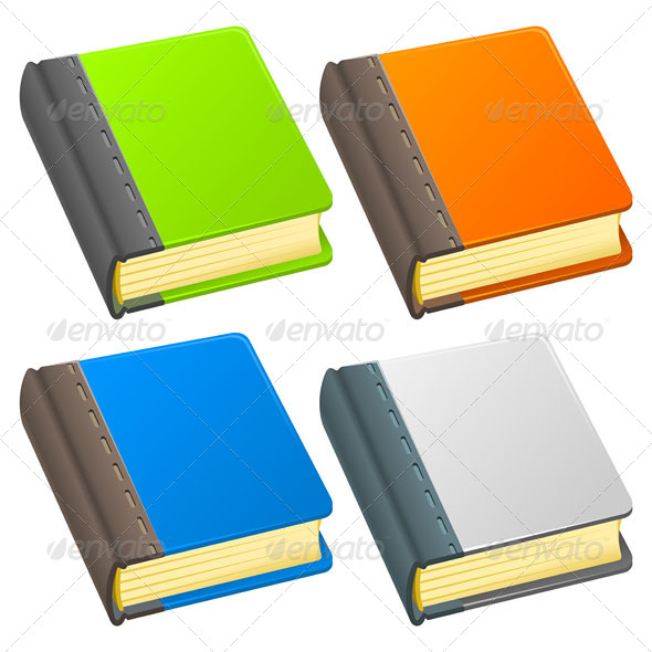 GraphicRiver Book Icon Illustration 4987072