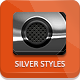 Dark Silver Metallic Photoshop Styles - GraphicRiver Item for Sale