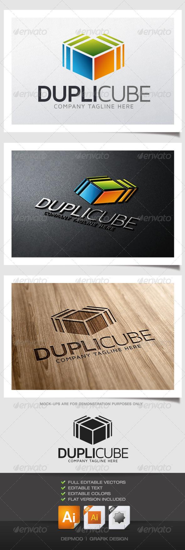 GraphicRiver Dupli Cube Logo 4989161