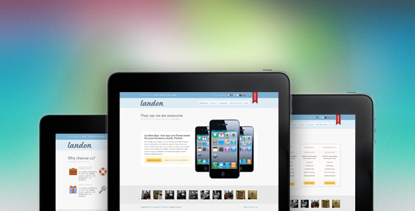 Themeforest - Landon - Business Landing Page - RIP