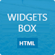 Widgets box - CodeCanyon Item for Sale