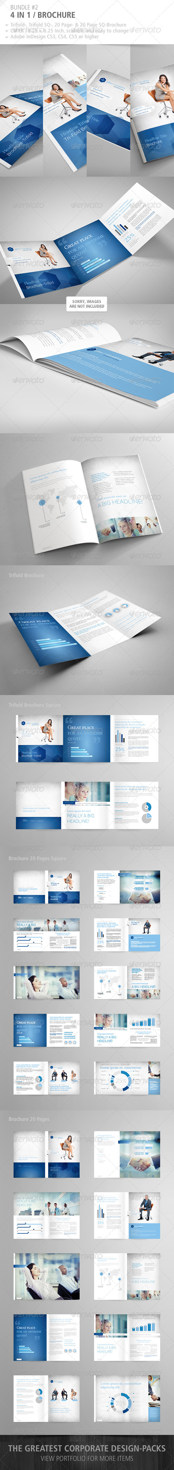GraphicRiver Brochure Bundle #2 4991032