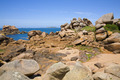 Pink granite rocks in Ploumanach - PhotoDune Item for Sale