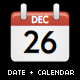 Date &amp;amp; Calendar Icon (Displays computers internal date/calendar) - ActiveDen Item for Sale