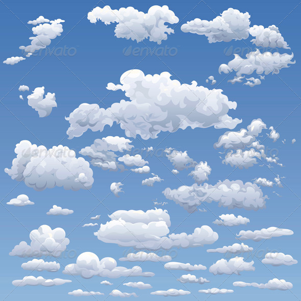 GraphicRiver Sky with Clouds 4993952