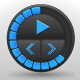 Round XML Music Player - ActiveDen Item for Sale