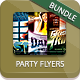 Dance Party Flyer Bundle - GraphicRiver Item for Sale