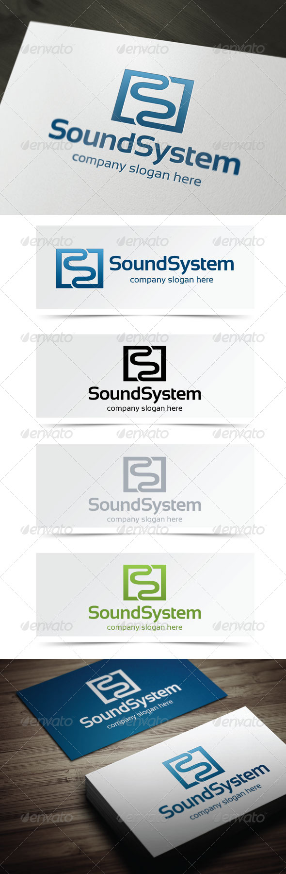 GraphicRiver Sound System 4995294