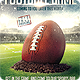 FootBall Game Flyer Template - GraphicRiver Item for Sale