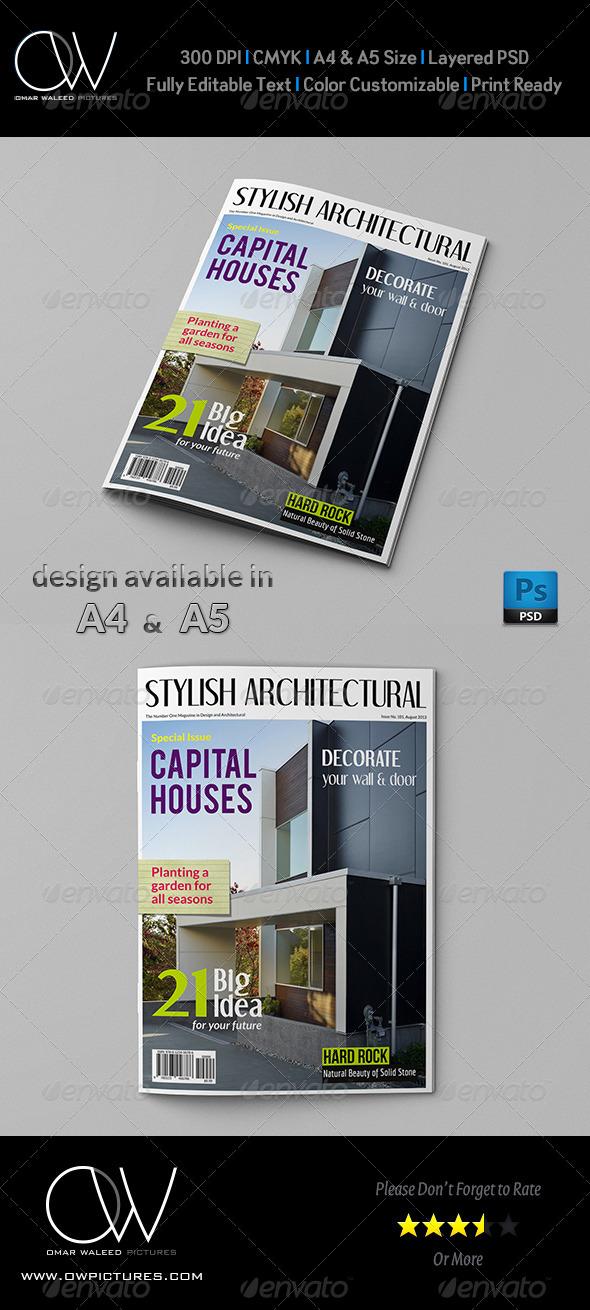 GraphicRiver Architectural Magazine Cover 4923680